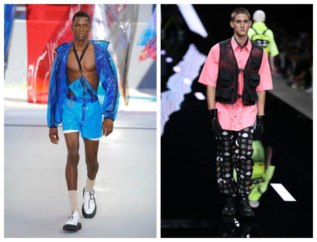 Abbigliamento in PVC e in materiale Hi tech moda uomo 1024x781 - 10 Tendenze Moda Uomo Primavera Estate 2019