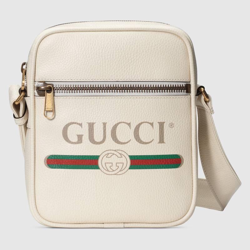 Borsa a tracolla uomo in pelle Gucci Print Borsa a tracolla uomo in pelle Gucci Print - Borse a tracolla uomo Gucci 2019