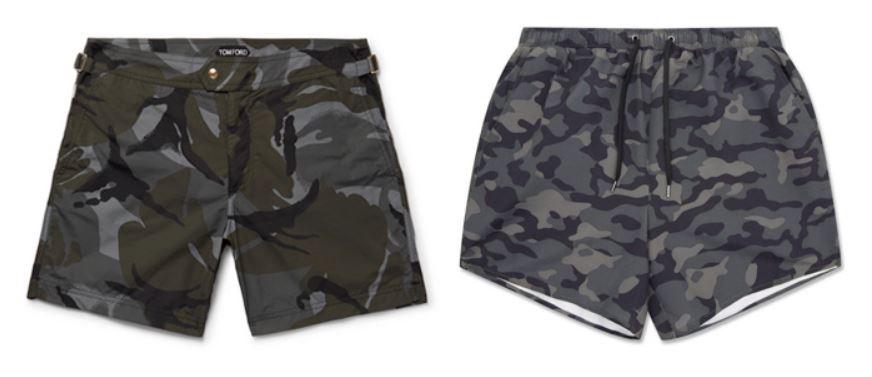 Costumi uomo fantasia camouflage - 5 Tendenze Moda Costumi da bagno Uomo 2019