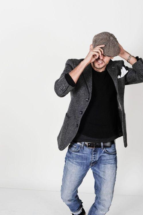 Esempi di abbigliamento casual chic uomo - Outfit Uomo Casual Chic