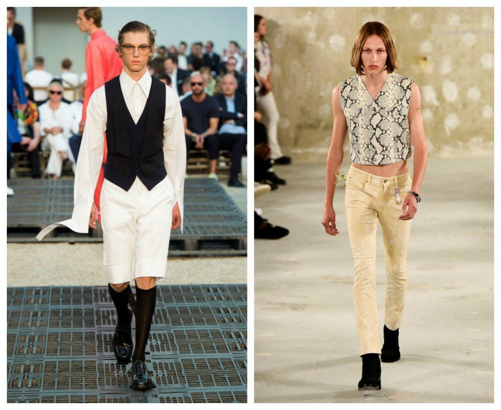 Gilet uomo moda primavera estate 2019 1024x839 - 10 Tendenze Moda Uomo Primavera Estate 2019