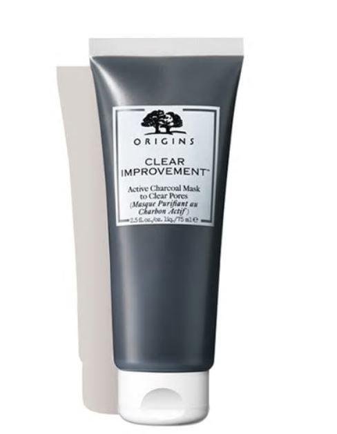 Maschera al carbone attivo Origins Clear Improvement - Le migliori maschere ed esfolianti viso uomo