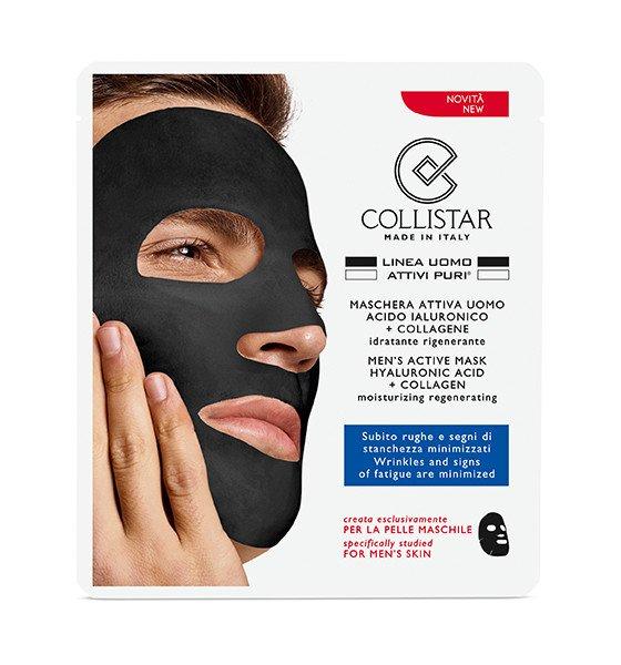 Maschera viso uomo Collistar idratante antirughe - Le migliori maschere ed esfolianti viso uomo