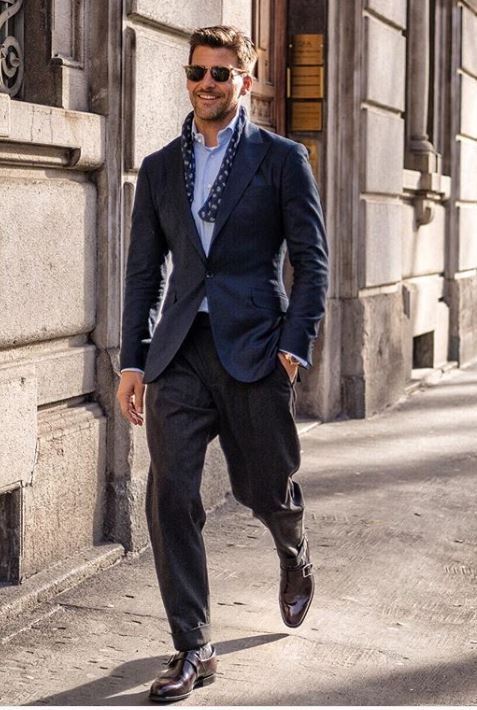 Outfit Casual Business Uomo 2019 o business smart - Outfit Uomo Business Elegante e Casual