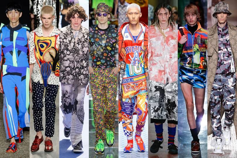 Stampe e fantasie moda uomo primavera estate 2019 - 10 Tendenze Moda Uomo Primavera Estate 2019