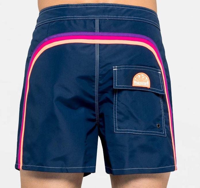Boxer corto uomo Sundek 2019 colore blu navy - Sundek Costumi Uomo 2019