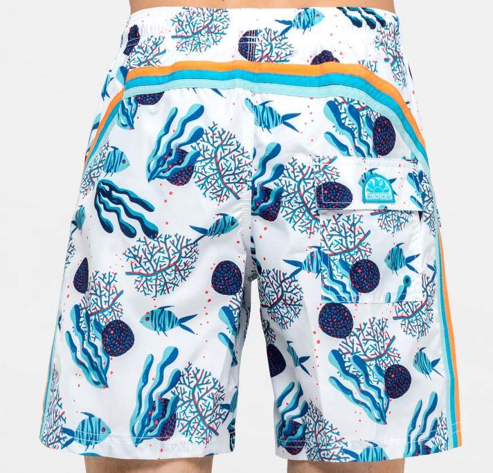 Boxer uomo Sundek fantasia fondale marino - Sundek Costumi Uomo 2019