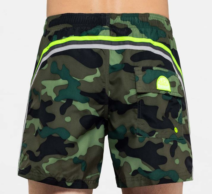 Costume uomo Sundek 2019 stampa camouflage - Sundek Costumi Uomo 2019