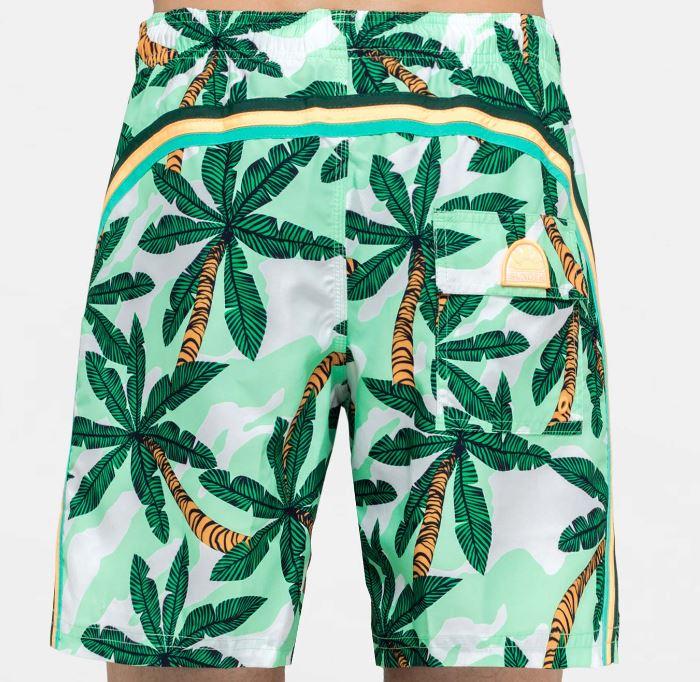 Costume uomo boxer Sundek fantasia palme estate 2019 - Sundek Costumi Uomo 2019