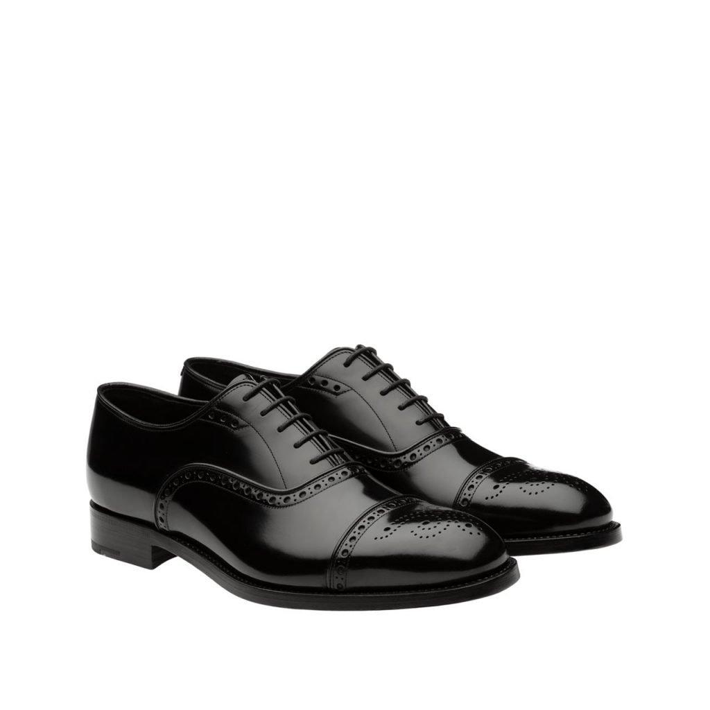Eleganti scarpe francesine stringate uomo Prada 1024x1024 - Scarpe Uomo eleganti 2019