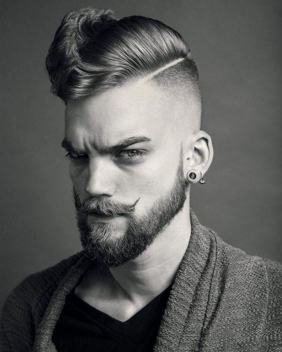 Idea Taglio capelli e barba uomo 2019 - Moda Barba Uomo 2019