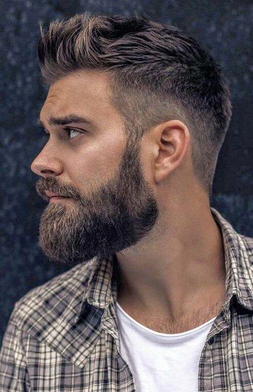 Moda Barba Uomo 2019 stile Full Beard - Moda Barba Uomo 2019