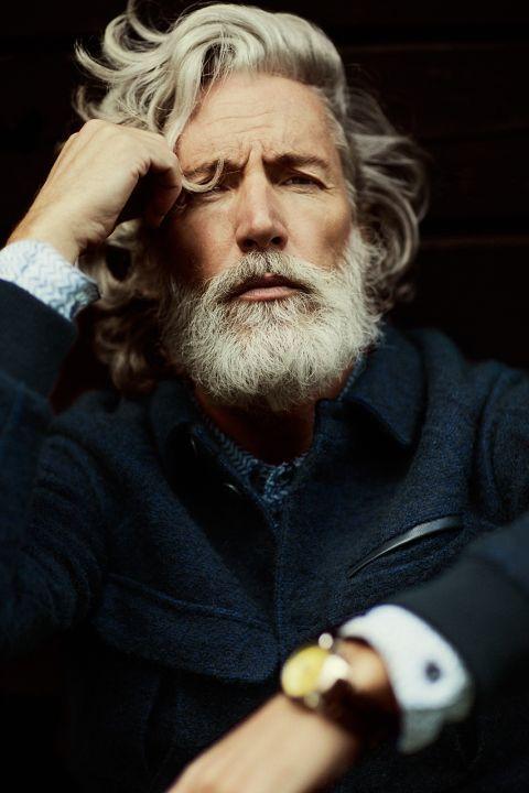 Taglio capelli e barba uomo alla Garibaldi - Moda Barba Uomo 2019