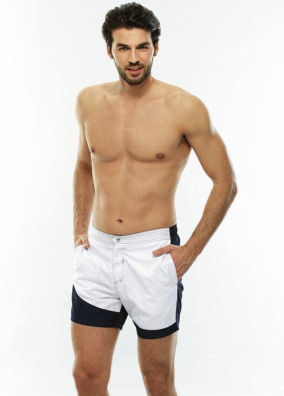 Lovable costume boxer medio blu e bianco estate 2019 - Lovable Costumi da bagno Uomo Estate 2019
