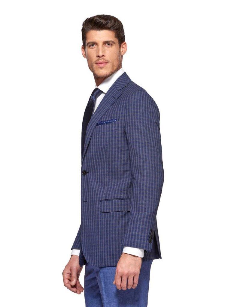 Blazer uomo Gutteridge in misto lana nei toni del blu 759x1024 - Giacche Uomo Gutteridge collezione primavera estate 2019