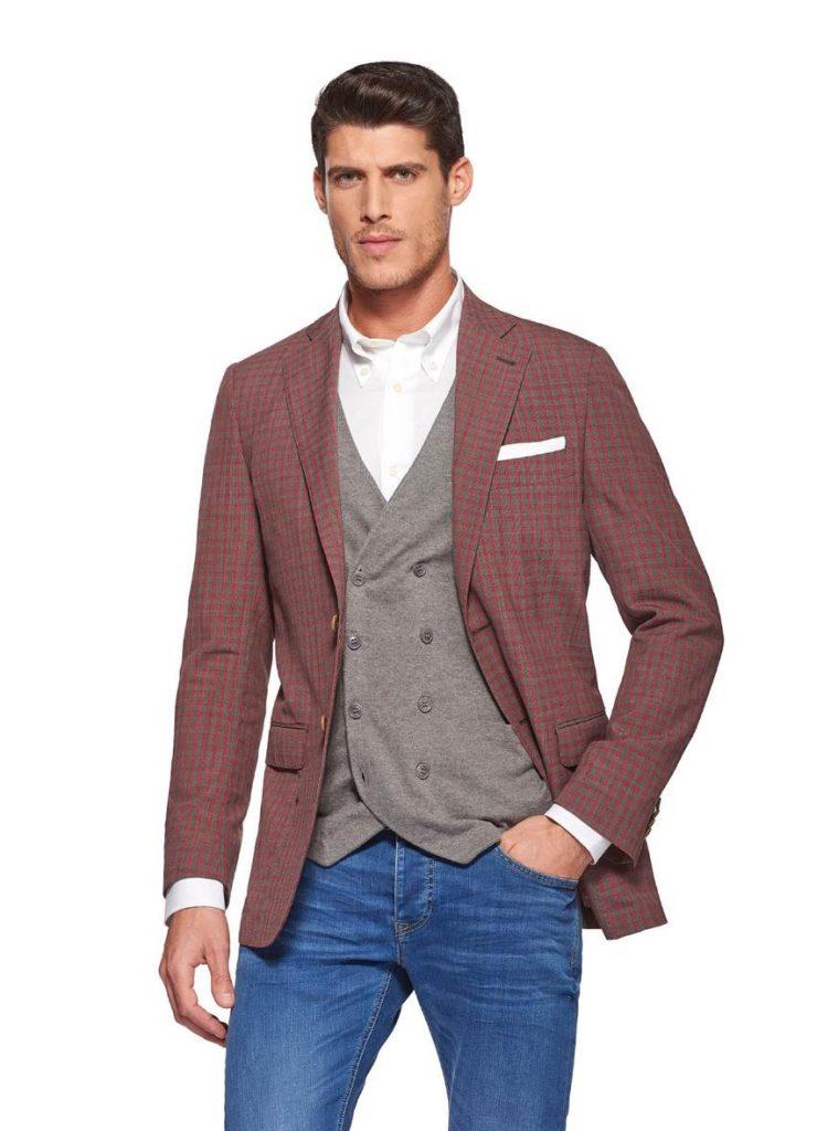 Blazer uomo Gutteridge in misto lana nei toni del rosso 759x1024 - Giacche Uomo Gutteridge collezione primavera estate 2019