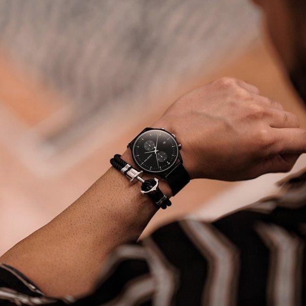 Bracciale Paul Hewitt abbinato orologio Chrono - Bracciali Uomo Paul Hewitt moda estate 2019