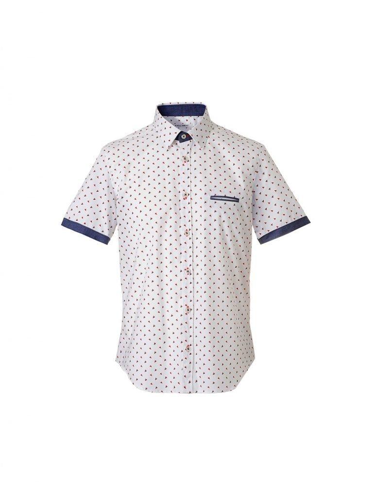 Camicia a maniche corte uomo Nara Camicie estate 2019 768x1024 - Catalogo Uomo Nara Camicie primavera estate 2019