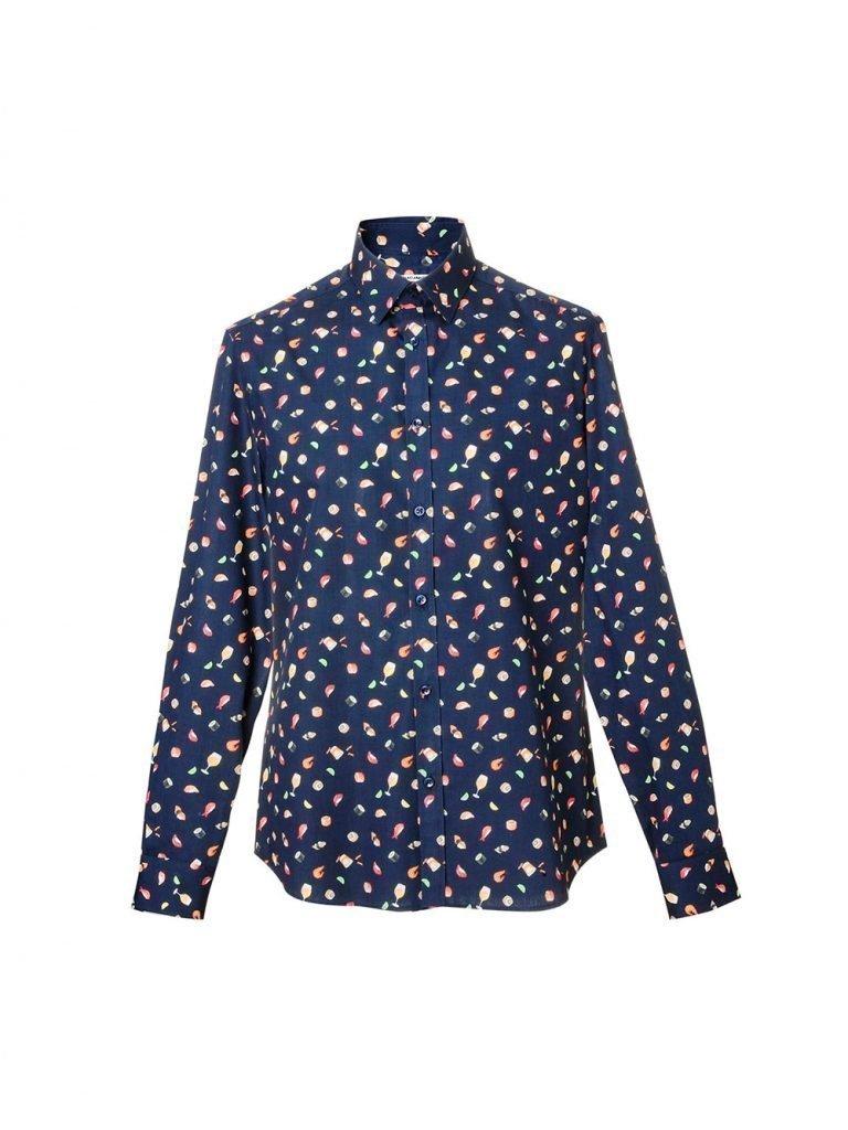 Camicia uomo a maniche lunghe stampa sushi 768x1024 - Catalogo Uomo Nara Camicie primavera estate 2019