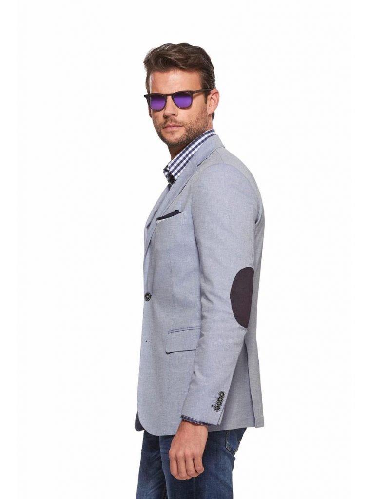 Giacca uomo Gutteridge con toppe a contrasto sul gomito primavera estate 2019 759x1024 - Giacche Uomo Gutteridge collezione primavera estate 2019