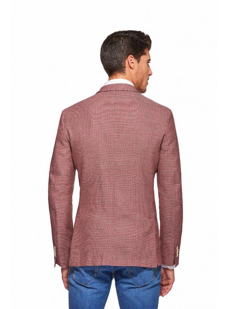 Giacca uomo Gutteridge in cotone operato stretch colore rosso mattone primavera estate 2019 759x1024 - Giacche Uomo Gutteridge collezione primavera estate 2019