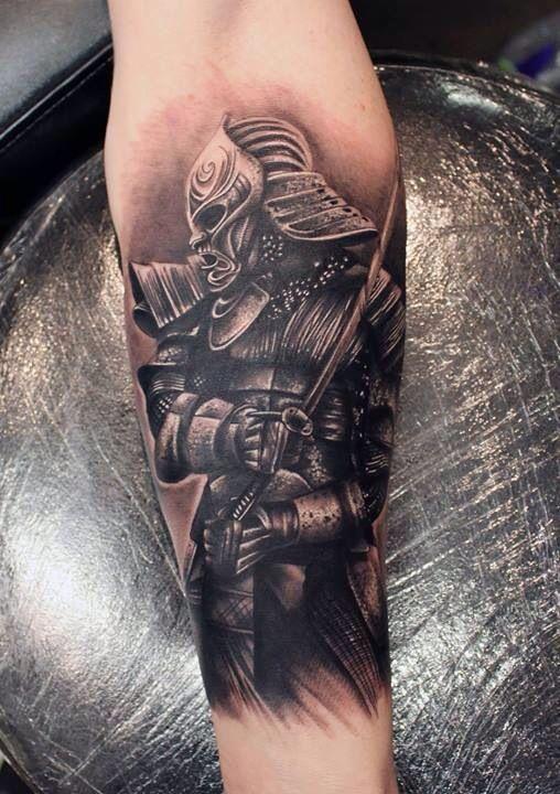 Immagine Tatuaggio Guerriero - Tatuaggio Uomo Samurai
