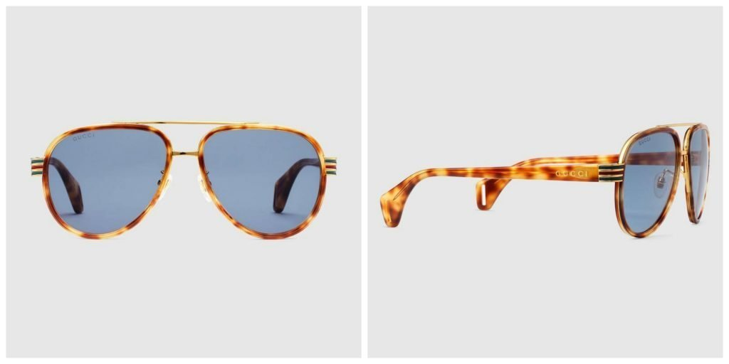 Occhiale da sole aviator Gucci uomo 2019 1024x512 - Occhiali da sole GUCCI Uomo 2019