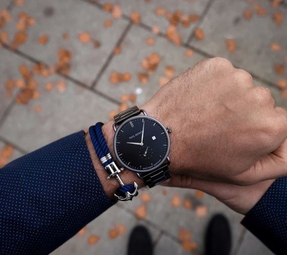 Orologio Breakwater Paul Hewitt abbinato al bracciale - Bracciali Uomo Paul Hewitt moda estate 2019