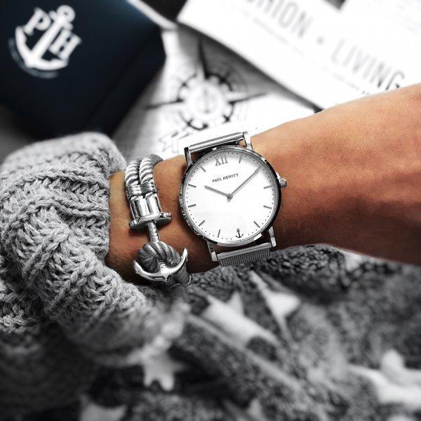 Orologio Sailor Paul Hewitt abbinato al bracciale - Bracciali Uomo Paul Hewitt moda estate 2019