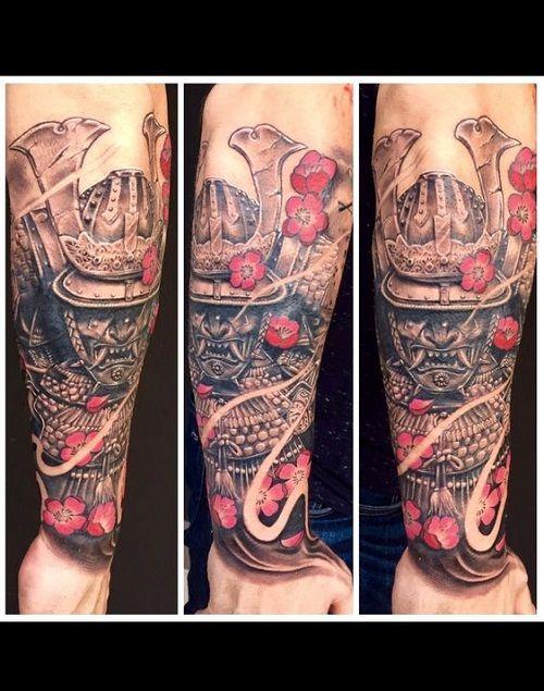 Tatuaggio Samurai Guerriero - Tatuaggio Uomo Samurai