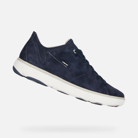 Nuove sneakers GEOX uomo estate 2019 modello Nebula Y blu navy - Geox Sneakers Uomo Estate 2019