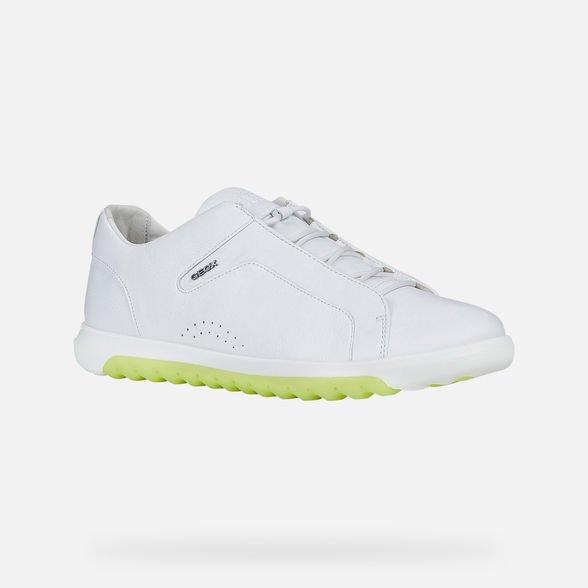 Nuove sneakers GEOX uomo estate 2019 modello Nexside bianche - Geox Sneakers Uomo Estate 2019