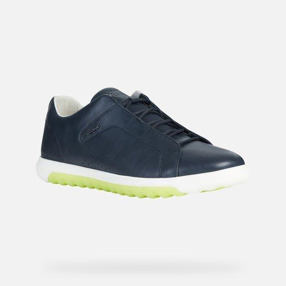 Nuove sneakers GEOX uomo estate 2019 modello Nexside blu - Geox Sneakers Uomo Estate 2019