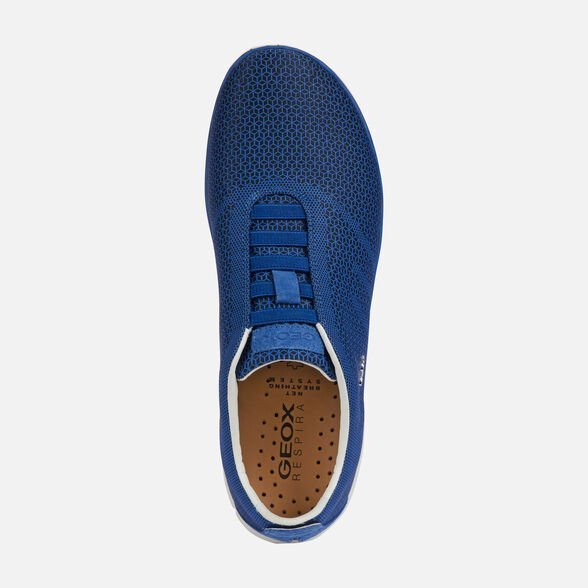 Sneakers Geox uomo Nebula estate 2019 nuovo colore blu - Geox Sneakers Uomo Estate 2019
