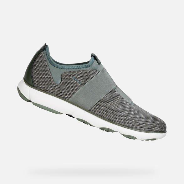 Sneakers uomo Geox modello Nebula 2019 con fascia elastica - Geox Sneakers Uomo Estate 2019