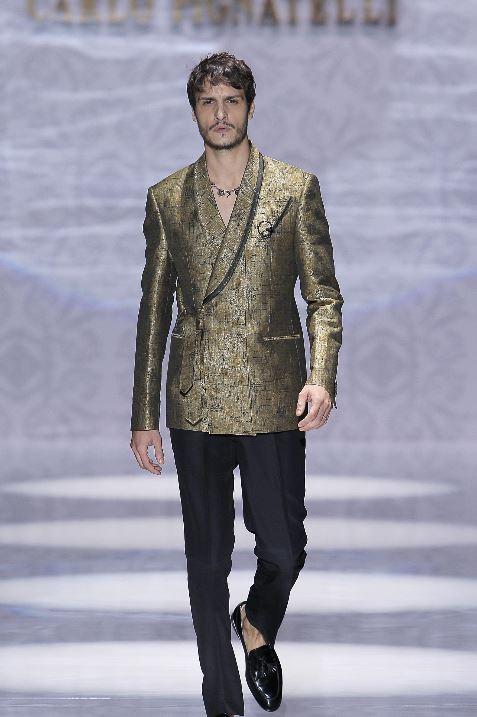 Abito da sposo con giacca doppiopetto Pignatelli 2020 - Abiti da Sposo 2020 Carlo Pignatelli