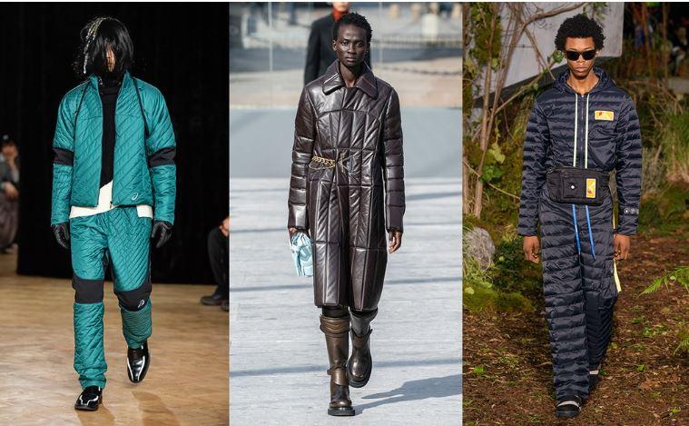 Abbigliamento trapuntato moda uomo Inverno 2019 2020 - Tendenze Moda Abbigliamento Uomo Inverno 2019 2020