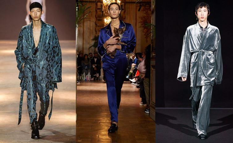 Abiti a pigiama Moda Uomo Inverno 2019 2020 - Tendenze Moda Abbigliamento Uomo Inverno 2019 2020