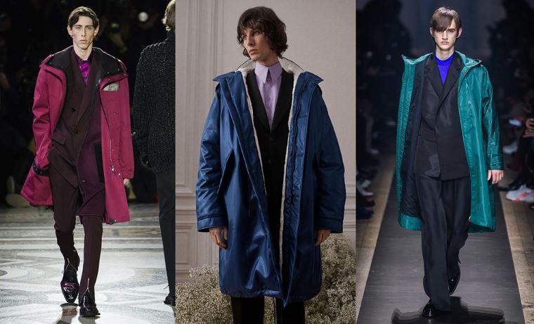 Abito elegante abbinato al parka casual Tendenza Moda Abbigliamento Uomo winter 2020 - Tendenze Moda Abbigliamento Uomo Inverno 2019 2020