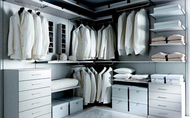 Come progettare cabina armadio da uomo - Come strutturare una cabina armadio di un uomo