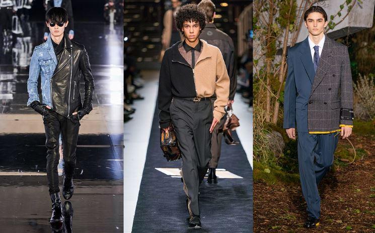 Moda Mix and Match Uomo inverno 2019 2020 - Tendenze Moda Abbigliamento Uomo Inverno 2019 2020