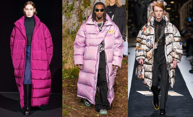 Piumini oversize moda uomo inverno 2019 2020 - Tendenze Moda Abbigliamento Uomo Inverno 2019 2020