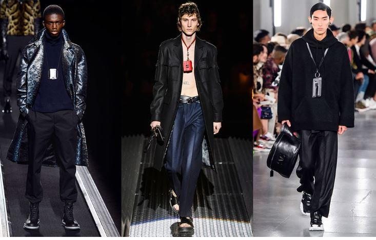 The neck bag moda uomo inverno 2019 2020 - Tendenze Moda Abbigliamento Uomo Inverno 2019 2020
