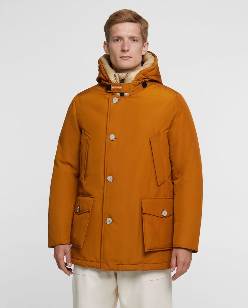 Arctic Parka NF Woolrich in tessuto Ramar inverno 2019 2020 colore Bourbon 826x1024 - Parka Woolrich Uomo Inverno 2019 2020