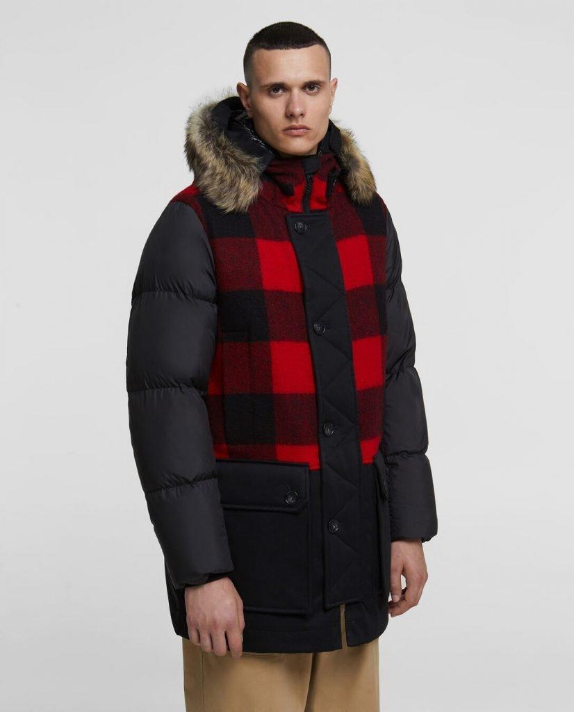 Buffalo Wool Parka inverno 2020 prezzo 1200 euro 826x1024 - Parka Woolrich Uomo Inverno 2019 2020