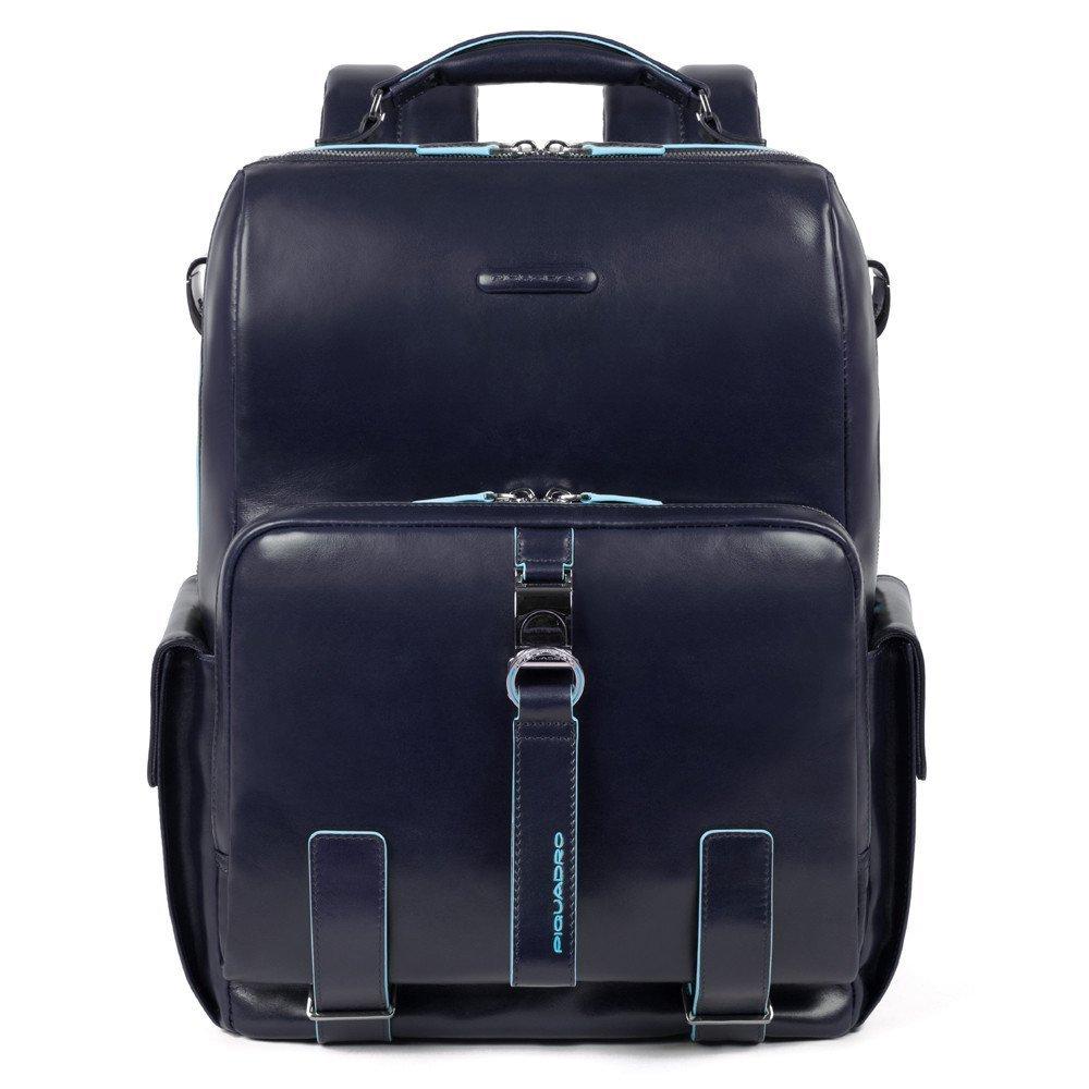 Nuovo zaino Piquadro Blue Square colore blu notte - Piquadro Zaini Uomo nuovi arrivi collezione inverno 2019 2020