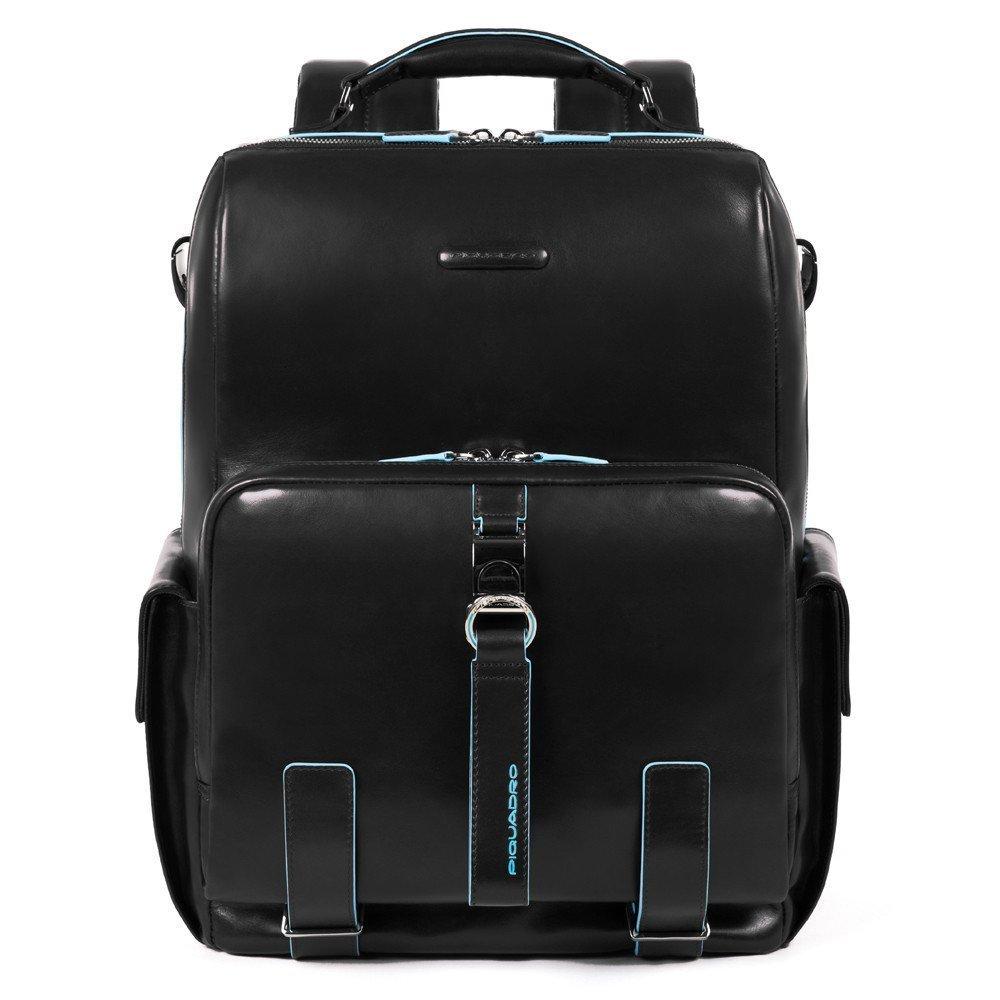 Nuovo zaino Piquadro Blue Square colore nero - Piquadro Zaini Uomo nuovi arrivi collezione inverno 2019 2020