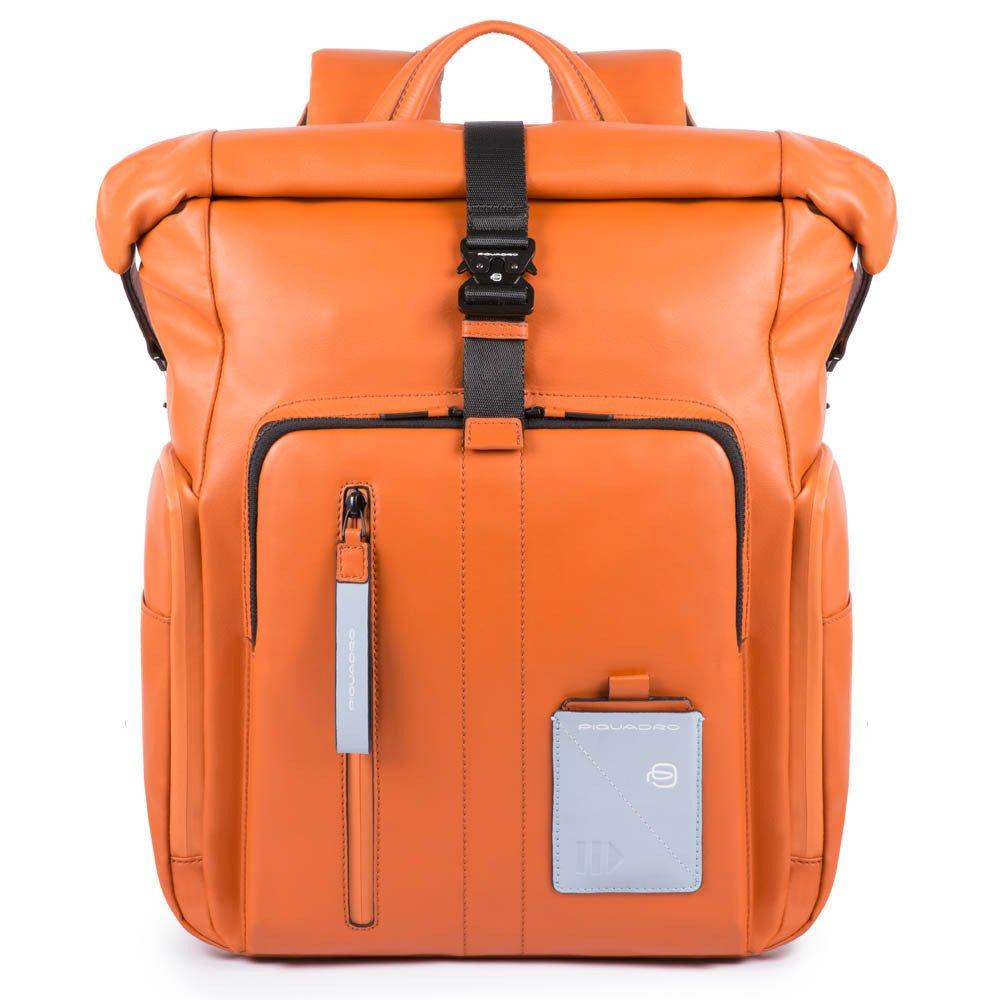 Nuovo zaino uomo Piquadro BagMotic arancione inverno 2019 2020 - Piquadro Zaini Uomo nuovi arrivi collezione inverno 2019 2020