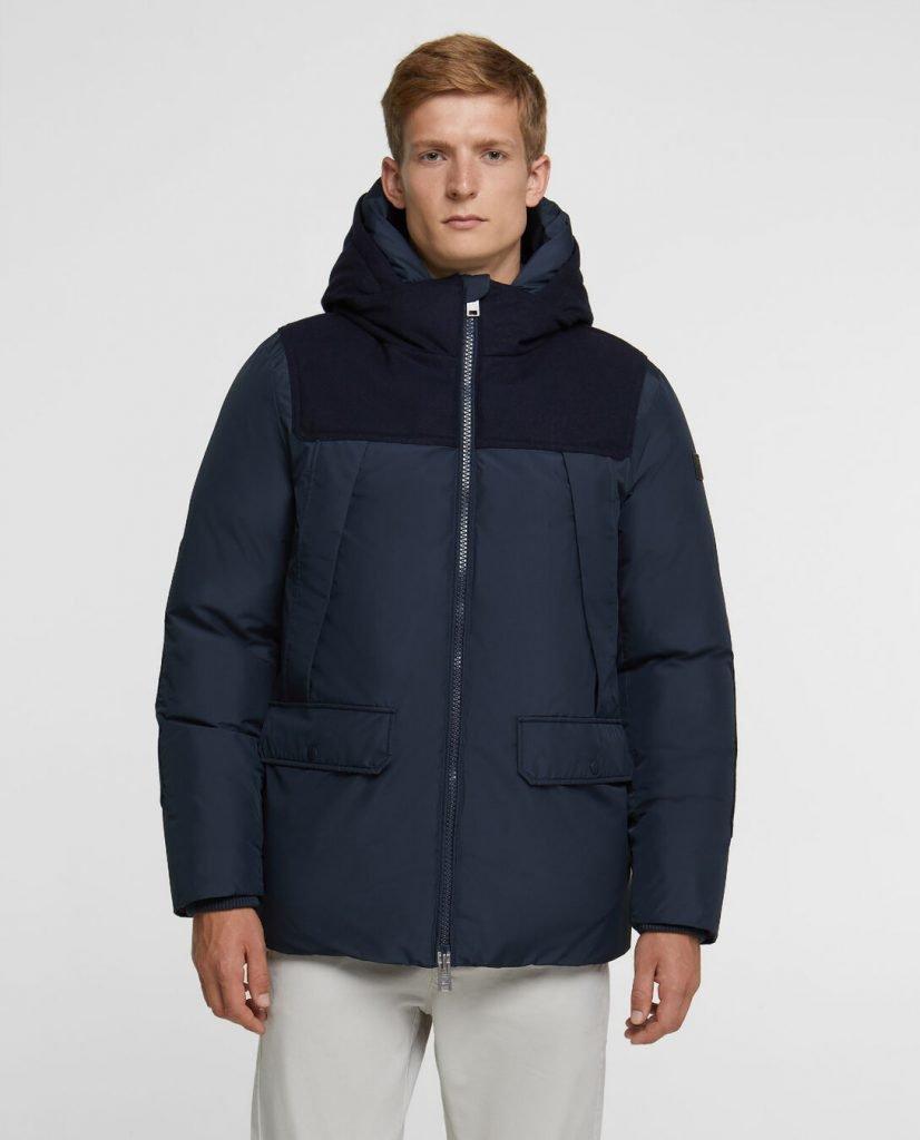 Wool Patch Parka Woolrich uomo collezione inverno 2019 2020 826x1024 - Parka Woolrich Uomo Inverno 2019 2020