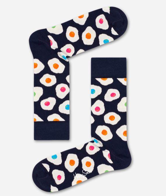 Calzino uomo Sunny Side occhio di bue - Nuovi Arrivi Calzini Uomo Happy Socks Inverno 2019 2020